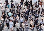 Crowd of clapping business people Stock Photo - Premium Royalty-Free, Artist: Blend Images, Code: 635-06191688