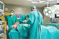 View of medical team Stock Photo - Premium Royalty-Freenull, Code: 6109-06195906