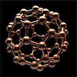 Buckminsterfullerene, computer artwork. Stock Photo - Premium Royalty-Free, Artist: Photocuisine, Code: 679-06198315