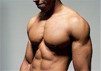 Male torso. Stock Photo - Premium Royalty-Freenull, Code: 679-06198644