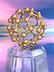 Buckyball molecule, computer artwork. Stock Photo - Premium Royalty-Free, Artist: Photocuisine, Code: 679-06199010