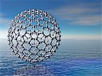 Buckyball molecule, computer artwork. Stock Photo - Premium Royalty-Free, Artist: Science Faction, Code: 679-06199017
