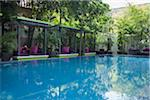 Hotel Swimming Pool, Phnom Penh, Cambodia Stock Photo - Premium Rights-Managed, Artist: oliv, Code: 700-06199237