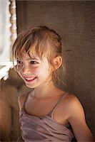 Close-Up of Smiling Girl Stock Photo - Premium Rights-Managednull, Code: 700-06199246