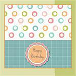 greeting card template design Stock Photo - Royalty-Free, Artist: balasoiu                      , Code: 400-06199381