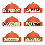 promotional labels set Stock Photo - Royalty-Free, Artist: balasoiu                      , Code: 400-06199397