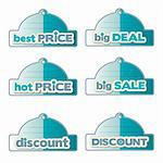promotional labels set Stock Photo - Royalty-Free, Artist: balasoiu                      , Code: 400-06199398