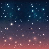 Night sky with stars, EPS10 Stock Photo - Royalty-Freenull, Code: 400-06200265