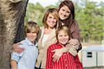 Portrait of Mother with Children Stock Photo - Premium Rights-Managed, Artist: Kevin Dodge, Code: 700-06282096