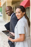 Business People On the Go Stock Photo - Premium Rights-Managednull, Code: 700-06282121