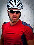 Portrait of Cyclist Stock Photo - Premium Rights-Managed, Artist: ableimages, Code: 822-06302433