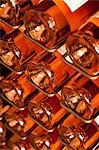 Stacked Rose Wine Bottles Stock Photo - Premium Rights-Managed, Artist: ableimages, Code: 822-06302532