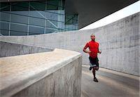 runner (male) - Man Running Outdoors Stock Photo - Premium Rights-Managednull, Code: 822-06302557