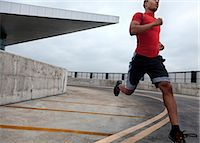 runner (male) - Man Running Outdoors Stock Photo - Premium Rights-Managednull, Code: 822-06302590