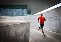 runner (male) - Man Running Outdoors Stock Photo - Premium Rights-Managednull, Code: 822-06302592