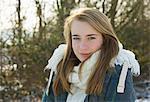 Portrait of Teenage Girl Outdoors Stock Photo - Premium Rights-Managed, Artist: ableimages, Code: 822-06302763