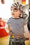 Boy wearing pirate costume Stock Photo - Premium Royalty-Free, Artist: Robert Harding Images, Code: 649-06305089
