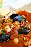 Cioppino; Italian-American Fish Stew;Close Up Stock Photo - Premium Royalty-Free, Artist: Photocuisine, Code: 659-06306200