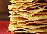 Stack of Tostadas; Close Up Stock Photo - Premium Royalty-Freenull, Code: 659-06306269
