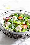 A mixed leaf salad with labneh cream cheese Stock Photo - Premium Royalty-Free, Artist: Photocuisine, Code: 659-06306728