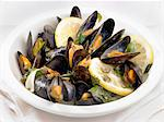 Cooked mussels Stock Photo - Premium Royalty-Free, Artist: Photocuisine, Code: 659-06306881