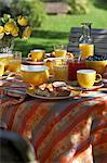 Summer breakfast in the garden Stock Photo - Premium Royalty-Free, Artist: Cultura RM, Code: 659-06307010