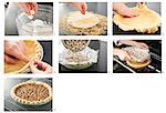 Steps for Making a Pecan Pie Stock Photo - Premium Royalty-Free, Artist: Flowerphotos, Code: 659-06307464