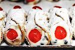 Sicilian cannoli in a bakery Stock Photo - Premium Royalty-Freenull, Code: 659-06307832