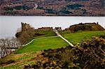 Urquhart Castle on Loch Ness, Scotland Stock Photo - Premium Royalty-Freenull, Code: 6106-06307918