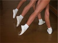 ballerinas Stock Photo - Premium Royalty-Freenull, Code: 6106-06309618