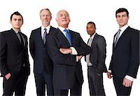 five - Portrait of businessmen Stock Photo - Premium Royalty-Freenull, Code: 614-06311798