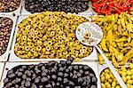 Olives at market, Houmt Souk, Djerba, Tunisia Stock Photo - Premium Royalty-Free, Artist: foodanddrinkphotos, Code: 614-06311826