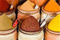 Spice market, Houmt Souk, Djerba, Tunisia Stock Photo - Premium Royalty-Freenull, Code: 614-06311827