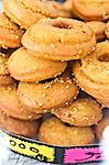 Sweet doughnuts, Houmt Souk, Djerba, Tunisia Stock Photo - Premium Royalty-Free, Artist: ableimages, Code: 614-06311828