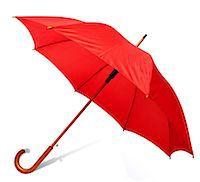 Red umbrella Stock Photo - Premium Royalty-Freenull, Code: 614-06312098