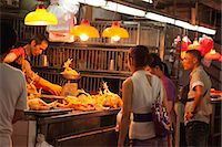 Shopping at the red market, Macau Stock Photo - Premium Rights-Managednull, Code: 855-06312484