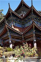 Mu family mansion, Wu Juan Pavilion, Lijiang, Yunnan Province, China Stock Photo - Premium Rights-Managednull, Code: 855-06313063