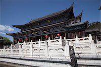 Mu family mansion, Wu Juan Pavilion, Lijiang, Yunnan Province, China Stock Photo - Premium Rights-Managednull, Code: 855-06313066