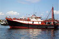 Fishing boats mooring at Cheung Chau, Hong Kong Stock Photo - Premium Rights-Managednull, Code: 855-06313290