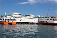 Ferry pier, Cheung Chau, Hong Kong Stock Photo - Premium Rights-Managednull, Code: 855-06313419