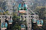 Cable cars, Ocean Park, Hong Kong Stock Photo - Premium Rights-Managed, Artist: Oriental Touch, Code: 855-06313846