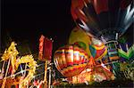 The Skyfair, balloon and the dragon feature lantern at night, Ocean Park, Hong Kong Stock Photo - Premium Rights-Managed, Artist: Oriental Touch, Code: 855-06313879