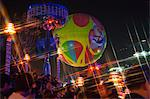 The Skyfair, balloon at night, Ocean Park, Hong Kong Stock Photo - Premium Rights-Managed, Artist: Oriental Touch, Code: 855-06313882