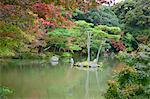 Autumn colours in garden of Kinkakuji, Kyoto, Japan Stock Photo - Premium Rights-Managed, Artist: Oriental Touch, Code: 855-06314414