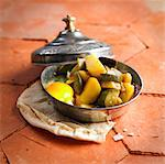 Vegetable Tajine Stock Photo - Premium Rights-Managed, Artist: Photocuisine, Code: 825-06315529
