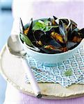 Oriental-style mussels Stock Photo - Premium Rights-Managed, Artist: Photocuisine, Code: 825-06315625