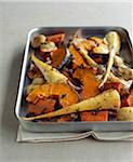 Roasted old-fashioned vegetables Stock Photo - Premium Rights-Managed, Artist: Photocuisine, Code: 825-06315847