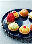 Assorted mini tartlets Stock Photo - Premium Rights-Managed, Artist: Photocuisine, Code: 825-06315970
