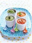 Assorted vegetable purees,baby food Stock Photo - Premium Rights-Managed, Artist: Photocuisine, Code: 825-06316087