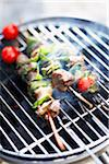 Lamb and sage brochettes Stock Photo - Premium Rights-Managed, Artist: Photocuisine, Code: 825-06316183
